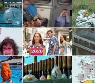 Memy o wakacjach 2020. Z czego śmieją się internauci?