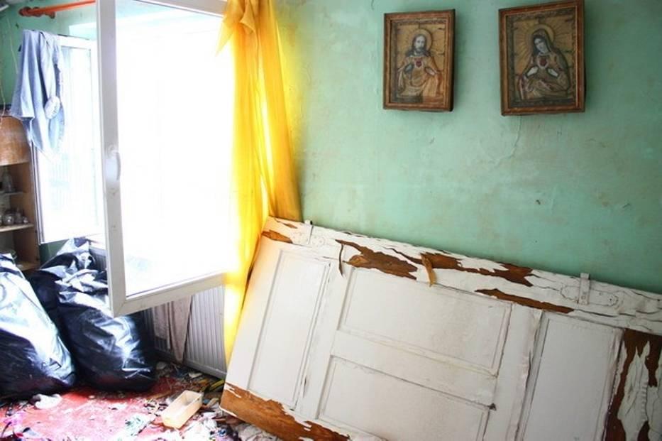 Zalane domy i gospodarstwa w Bieruniu