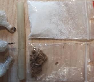 Policjanci zatrzymali 33-latka z Chełmna, który przewoził narkotyki