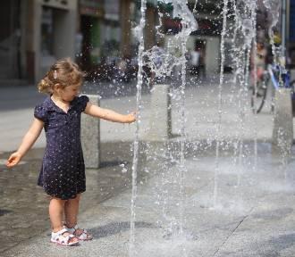 Na ulicy Modrzejowskiej działa już nowa fontanna