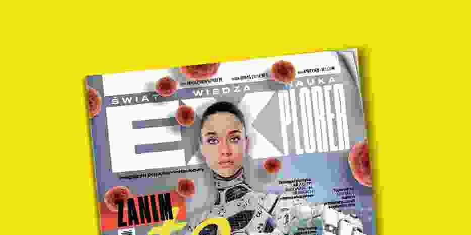 Tak wygląda okładka pierwszego numeru Magazynu Explorer