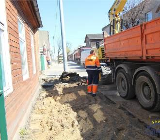 Ruszyła modernizacja ulicy Narutowicza w Zgierzu. Ma tu być klimatycznie.