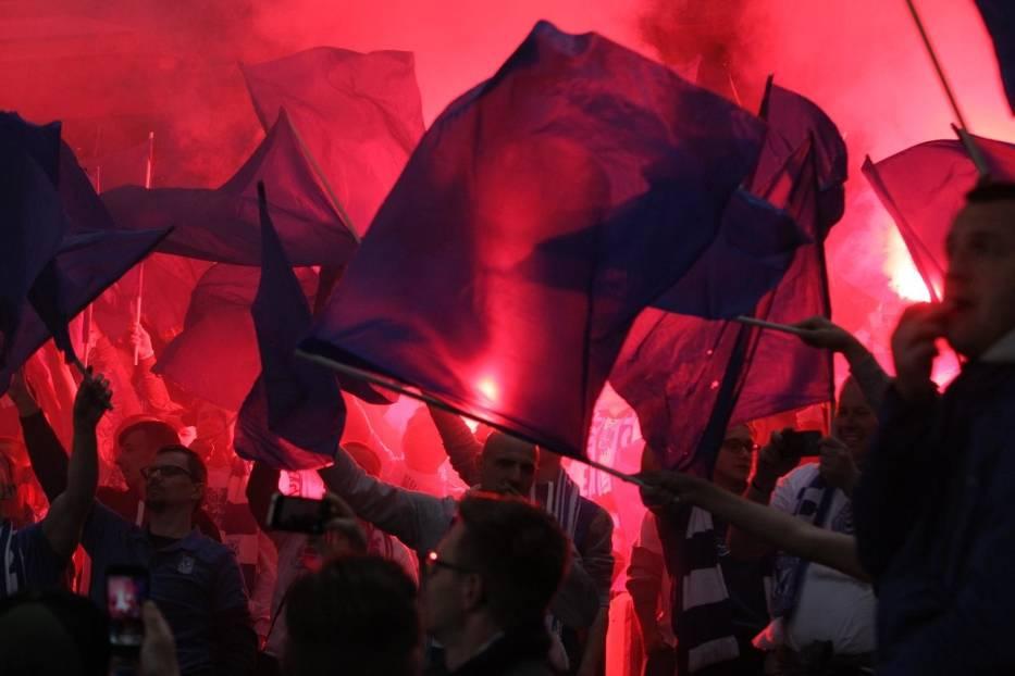 Lech - Legia: Poznań szykuje się na mecz podwyższonego ryzyka. Będzie zadyma?