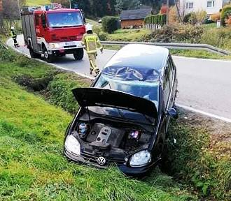Wypadek na drodze pod Nowym Sączem wyglądał groźnie