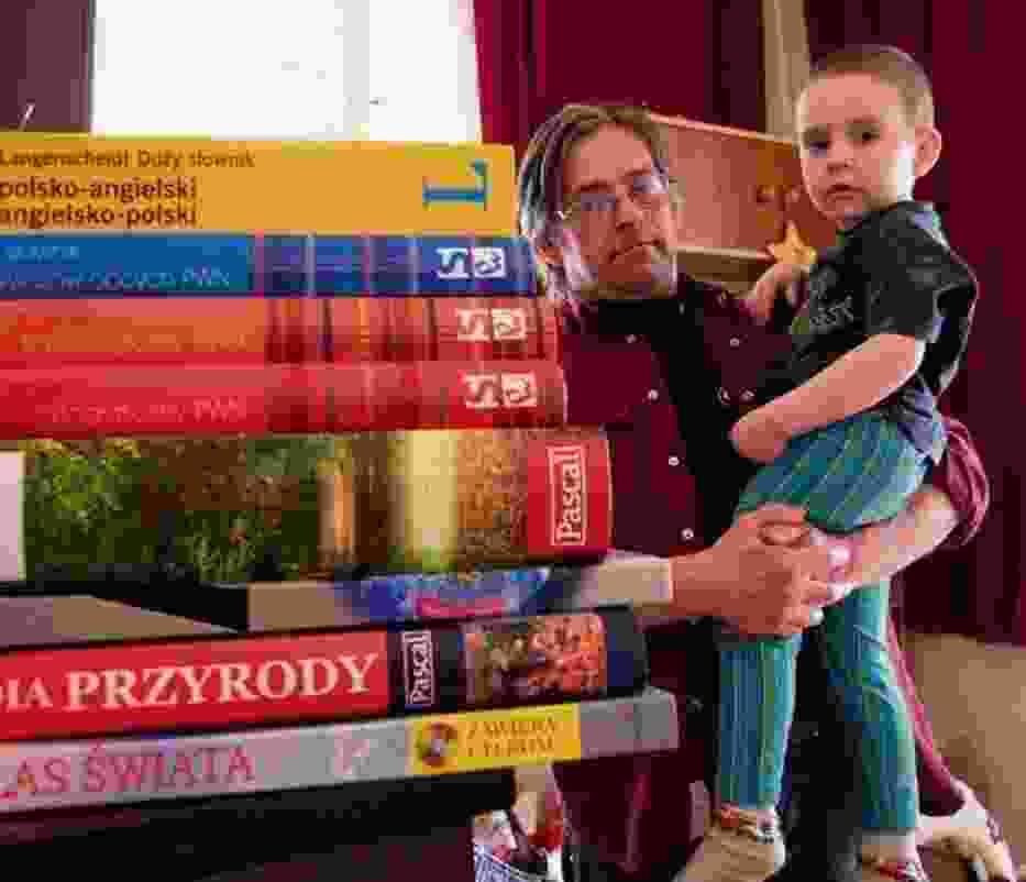 Marek Biłka kupił dla dzieci m