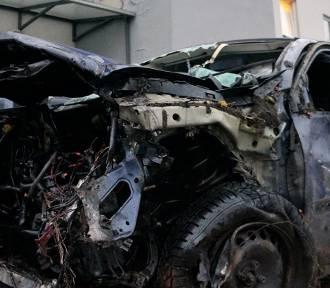 Racibórz, Raszczyce: dwie osoby zginęły w wypadku samochodowym przy ulicy Odrodzenia. Sprawca