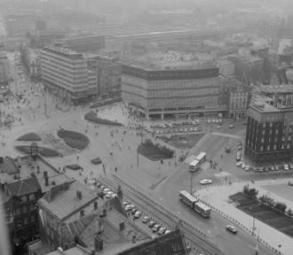 Katowice w 1989 roku - zobacz UNIKALNE zdjęcia z przelotu nad centrum