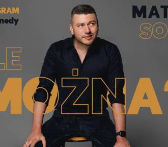 Mateusz Socha z nowym programem w Konińskim Domu Kultury