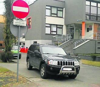 Nowy Tomyśl: Parkingowa wpadka burmistrza Włodzimierza Hibnera