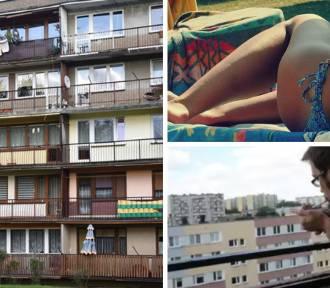 Lepiej nie rób tego na balkonie! Czeka Cię z to mandat... nawet w czasie pandemii