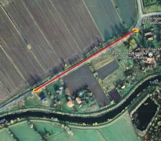 Gmina Nowy Dwór Gdański. Nowy chodnik, choć krótki, i tak znacząco poprawi bezpieczeństwo mieszkańców