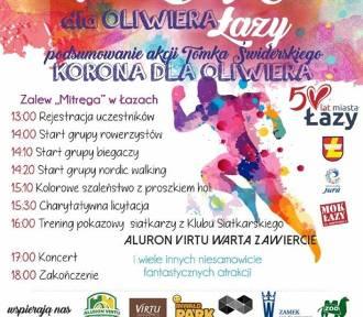 KolorLOVE Łazy 2017. Pobiegną dla Oliwiera