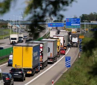 Ogromne korki na autostradzie A4 pod Wrocławiem