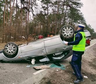 Wypadek na DK 55. Poszkodowani trafili do szpitali w Sztumie i Kwidzynie