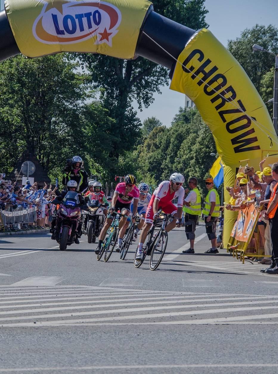 Tour de Pologne w Chorzowie ZDJĘCIA