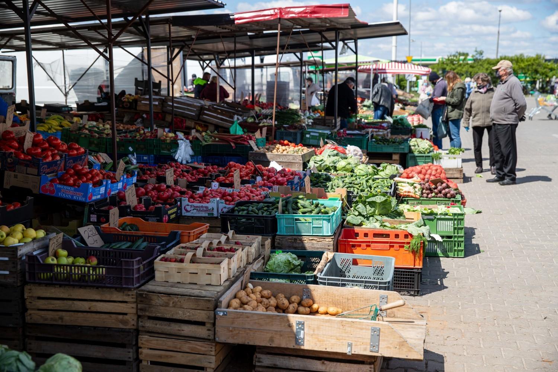 Ceny truskawek 21 maj 2020 Białystok giełda ryneczke