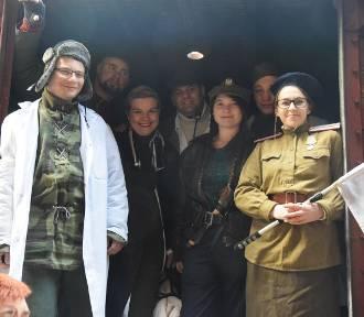 Pociąg Repatriantów odjechał z oleśnickiej stacji. Tak było jeszcze przed pandemią
