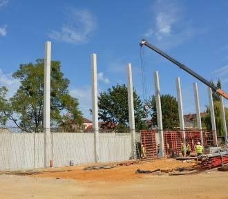 Arena Ostrów - prace na budowie trwają już ponad trzy miesiące