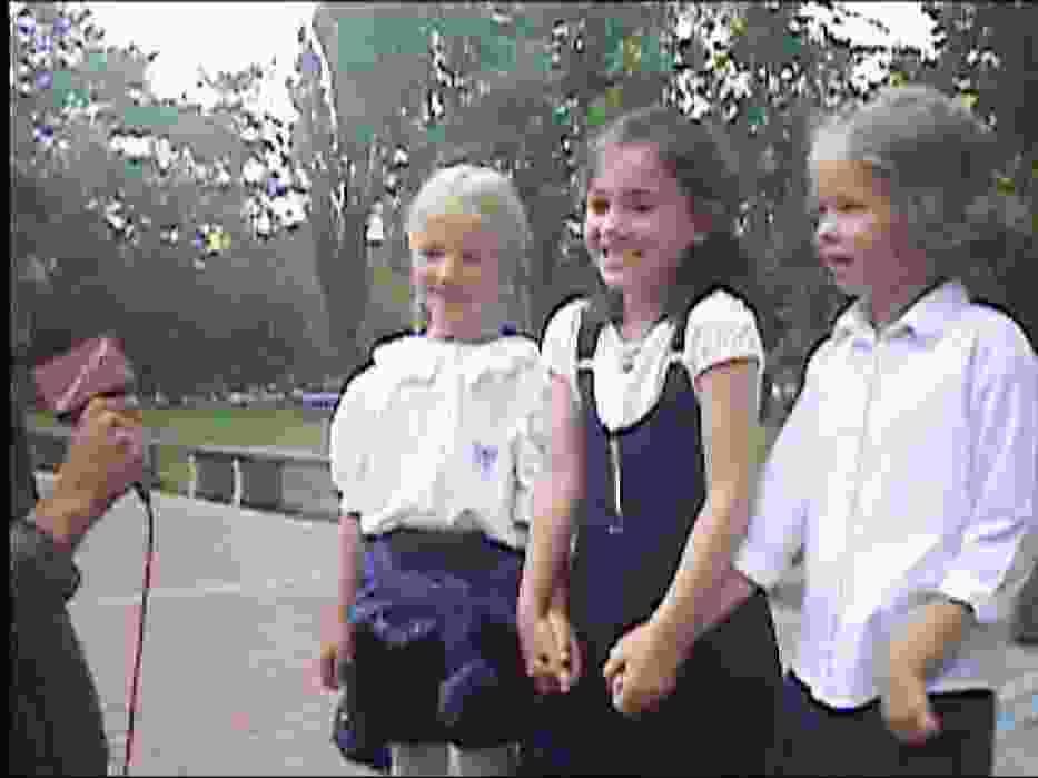Dziewczynki: byłyśmy bardzo zdenerwowane, najbardziej podobała nam się pani Danusia