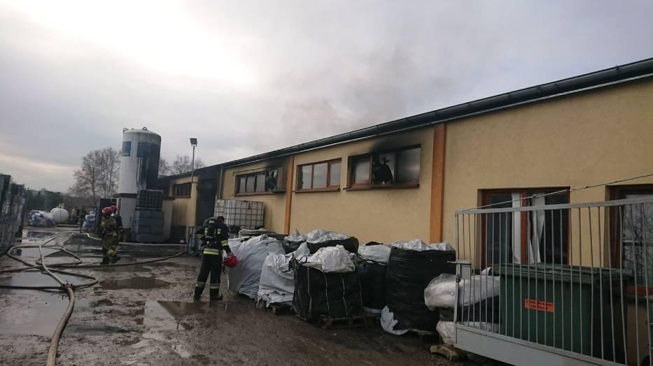 Do pożaru doszło przed godziną 12 w środę