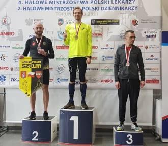 Bartosz Mazerski srebrnym medalistą Halowych Mistrzostw Polski Masters!