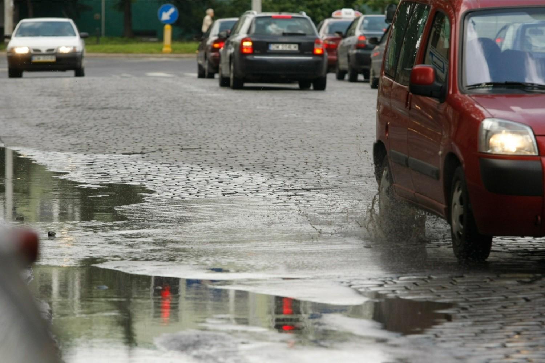 PoniedziałekPoczątek tygodnia niestety deszczowy