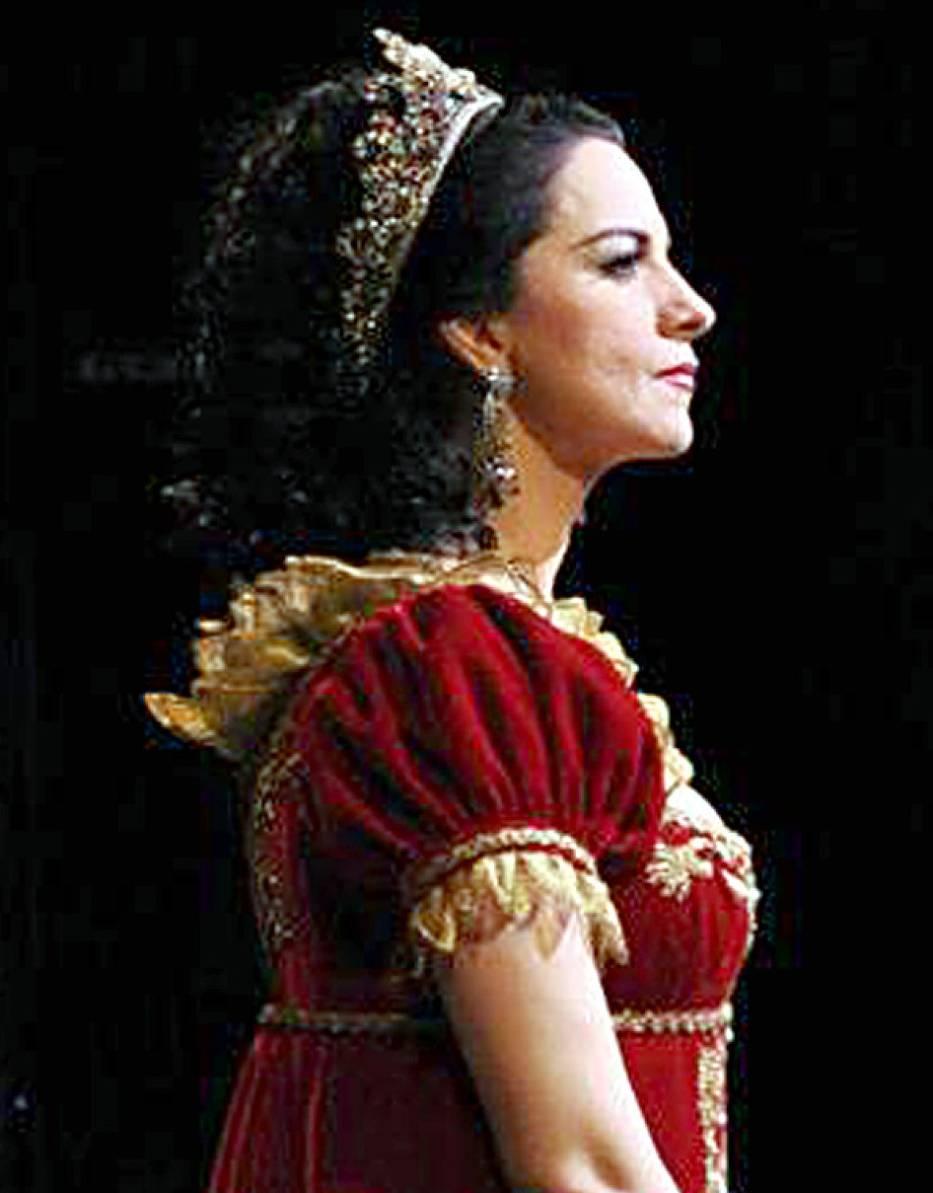 Angela Gheorghiu na scenie San Francisco Opera