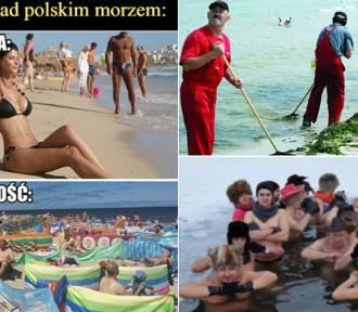 Wakacje nad Bałtykiem. Ulubiony urlop Polaków! MEMY