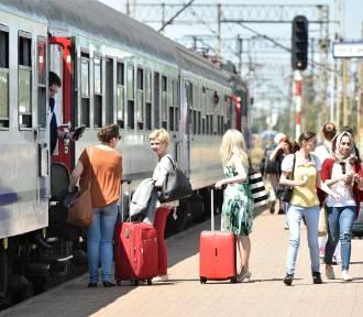 Mieszkańcy Pomorza najczęściej w kraju jeżdżą pociągami