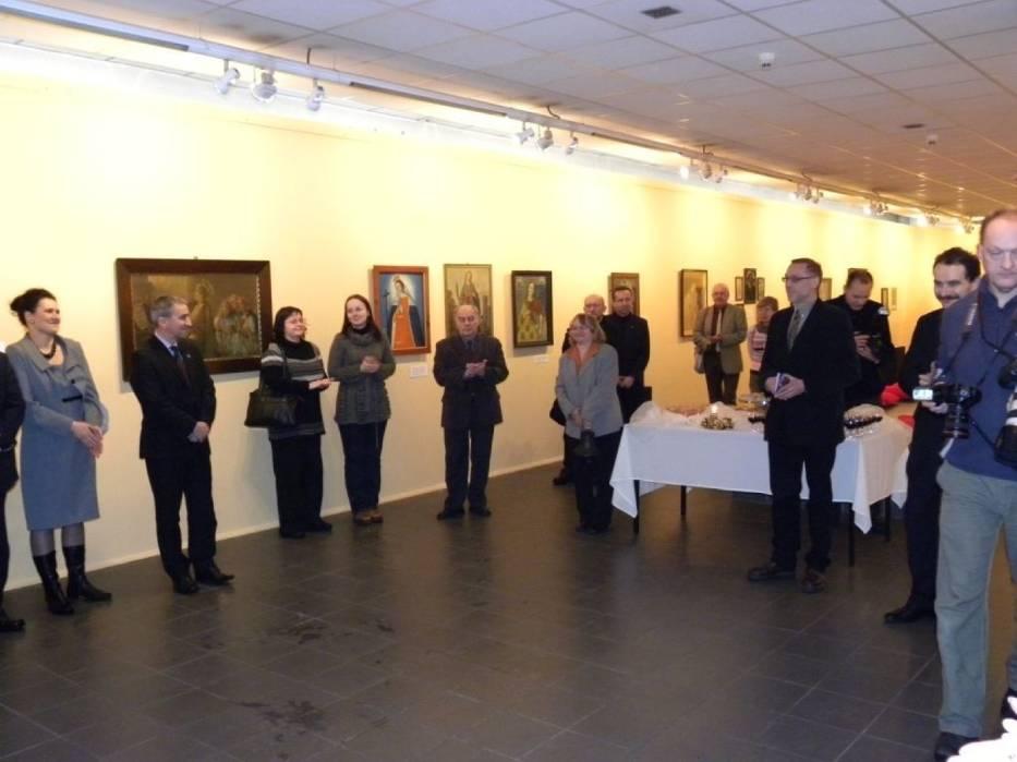 Goście dopisali jak zawsze w Muzeum Górnośląskim, czego zadowoleniu dał wyraz witający wszystkich dyrektor Dominik Abłamowicz