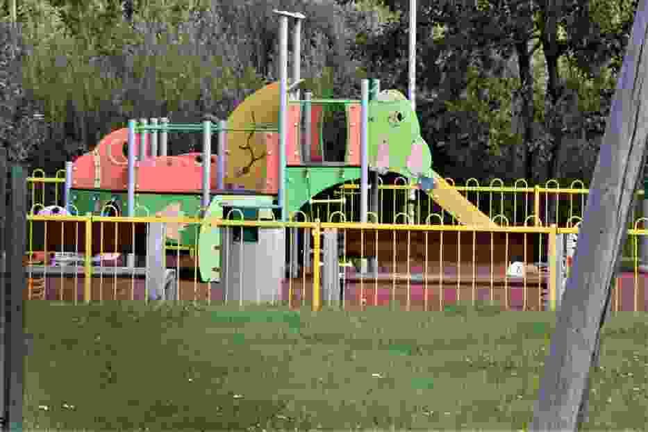 Dzieci nie mogą korzystać z placu zabaw