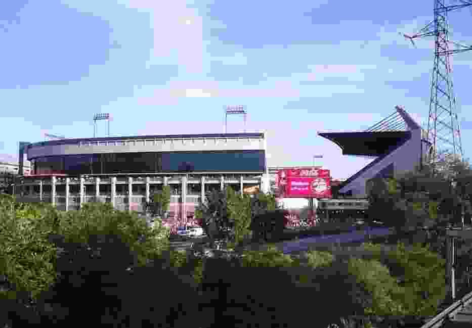Stadion Vicente Calderon, gdzie Barcę poskromiło Atletico Madryt