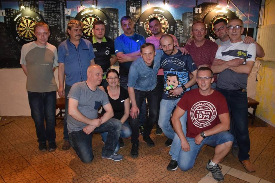 Drugi z czterech turniej Steel Darta na Skarpie w Świebodzinie