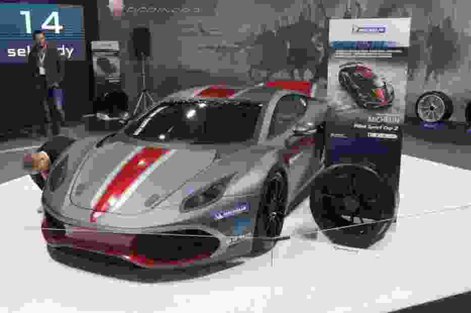 W ubiegłym roku na targach Warsaw Motor Show zaprezentowano auto polskiej firmy Arrinera - model Hussarya