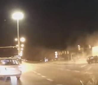 Śmiertelny wypadek na al. Jana Pawła II . Jest film z wypadku!