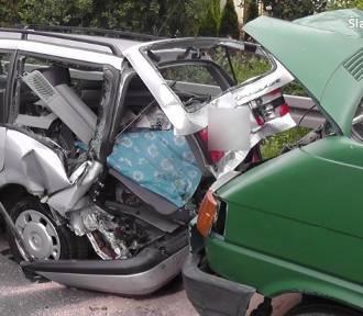 Karambol w Tarnowskich Górach. Zderzyły się cztery samochody