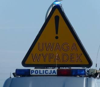 W Starowej Górze doszło do wypadku. Dwie osoby ranne