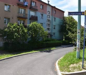 Koniec remontu ulicy Asnyka w Wodzisławiu Śląskim