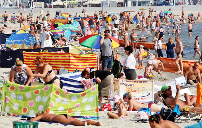 Polacy coraz chętniej wybierają urlop nad Bałtykiem