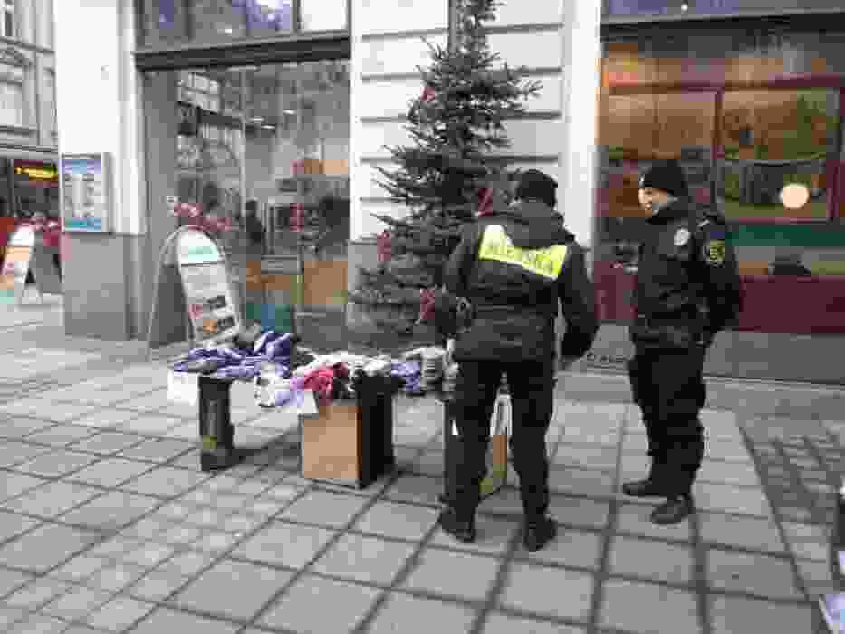 Handel uliczny w Katowicach
