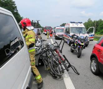 Dzieci jechały na obóz. Doszło do wypadku na S3. 12-latka jest w ciężkim stanie