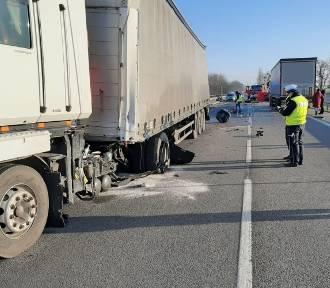 Tragiczny wypadek w Lipnie na DK 10. Nie żyje 63-latek [zdjęcia]