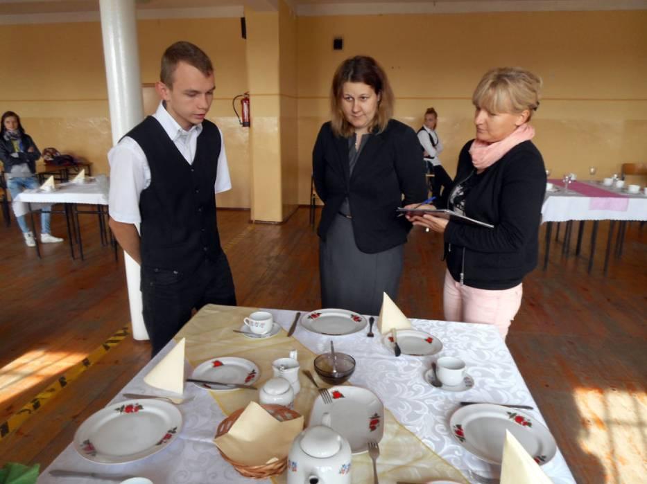 ZSZ nr 2 we Wrześni - Konkurs Profesjonalny Kelner