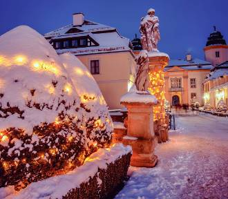 Zimą Zamek Książ i okolice wyglądają jak z bajki. Spieszcie się, bo śnieg się topi