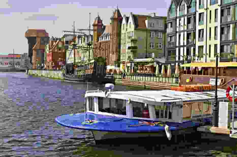 Tramwaj wodny w Gdańsku