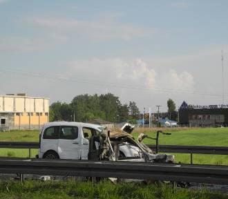 Karambol koło Lubina. Zderzyło się pięć samochodów