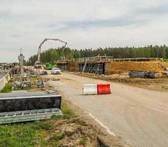 Budowa A1 Radomsko - Kamieńsk. Tak postępują prace ZDJĘCIA - maj 2020