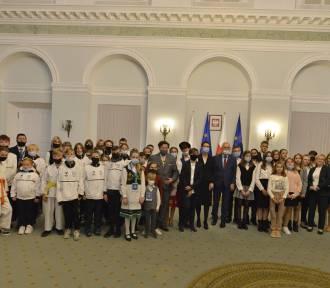 Dzieci z Wejherowa w Pałacu Prezydenckim