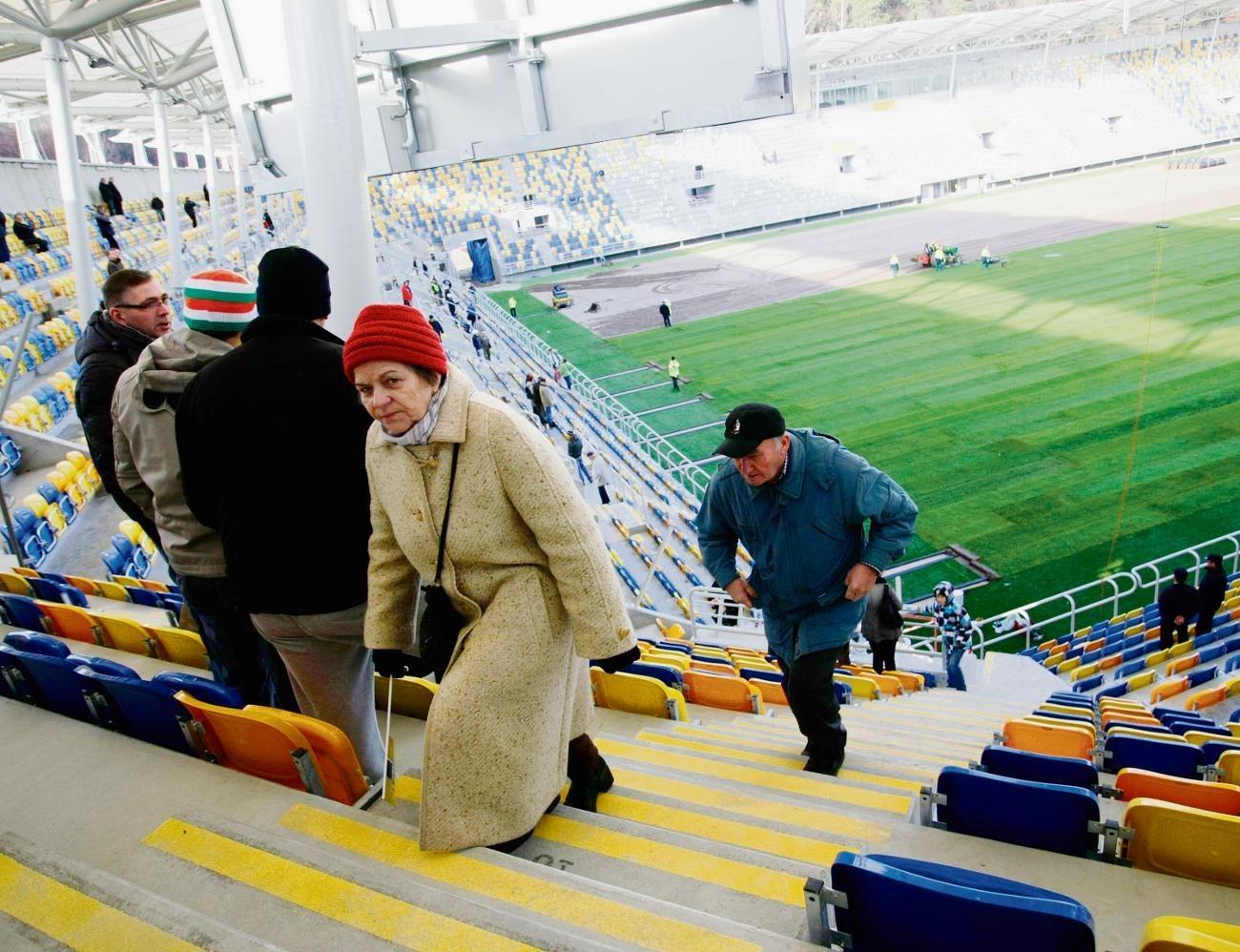 Nowy stadion piłkarski przy ul