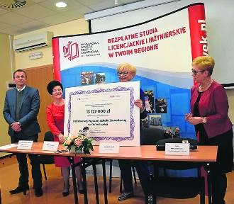 PWSZ we Włocławku dostała ponad 13 milionów złotych !